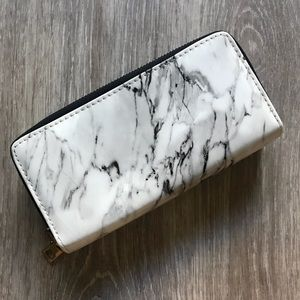 Glossy Marble Wallet